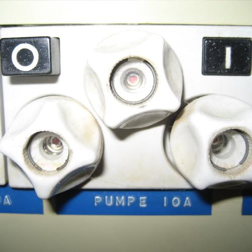EL-tavle Pumpe