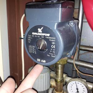 ikke synlige gas rør