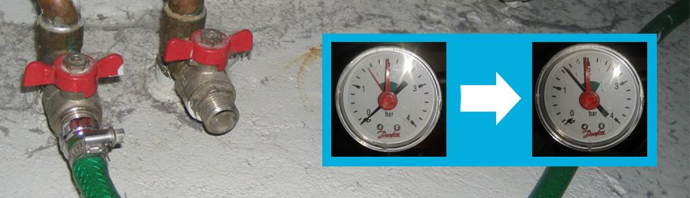 Sådan fylder man vand på et centralvarmeanlæg