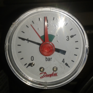 Manometer 1,0 bar