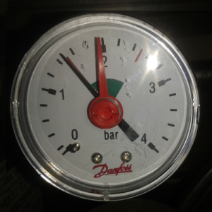 Manometer 1,5 bar