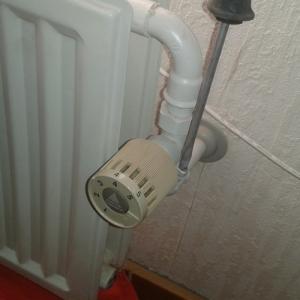 RAV ventil med ligekærvet skrue