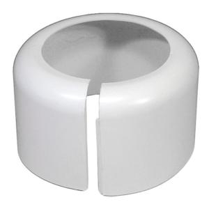 Muffeskjuler, skjuler afløbstilslutningen ved støbejernsmuffer