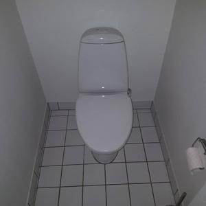 Toilet tilbud overordnet billede af eksisterende toilet