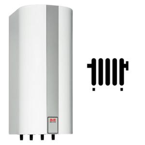 Varmtvandsbeholder til gasfyr