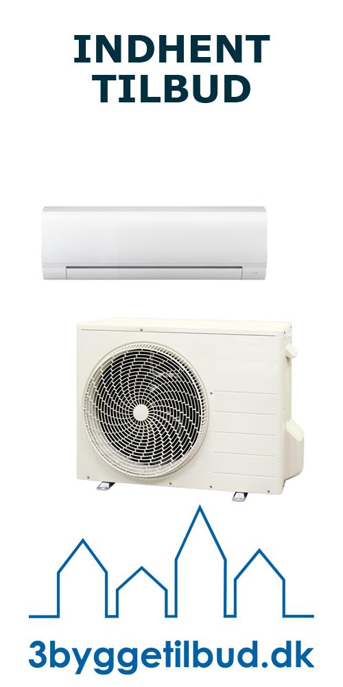 Luft til luft varmepumpe 3 byggetilbud