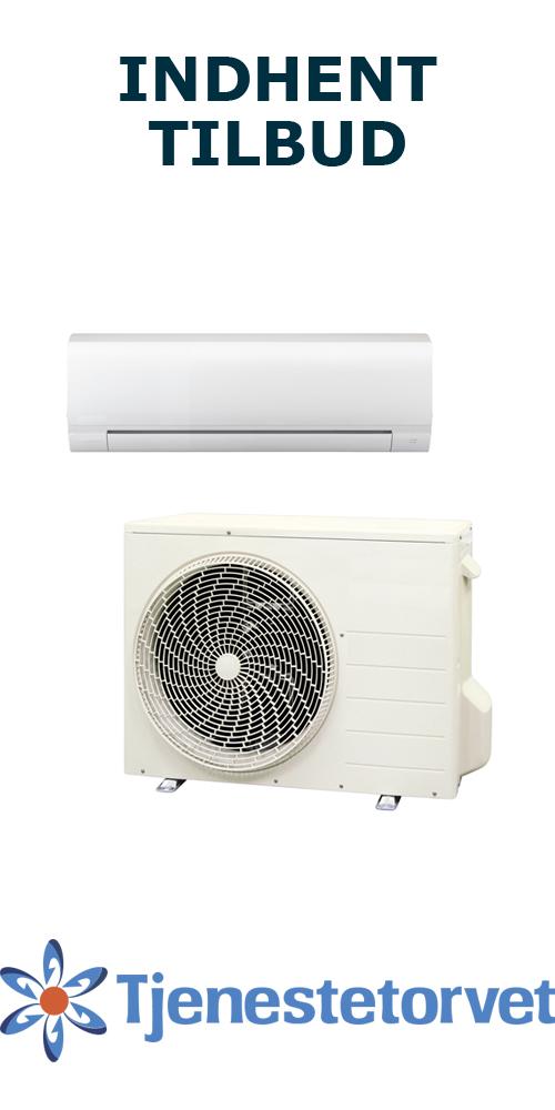 Luft til luft varmepumpe tilbud Tjenestetorvet
