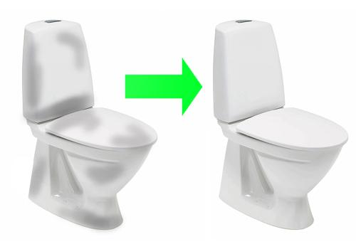 Nyt toilet skift til samme og spar penge