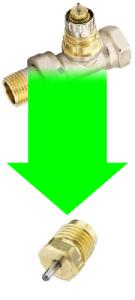 LILLE pakdåse til RA-2000 ventiler
