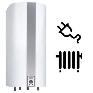 Combivandvarmer til centralvarme