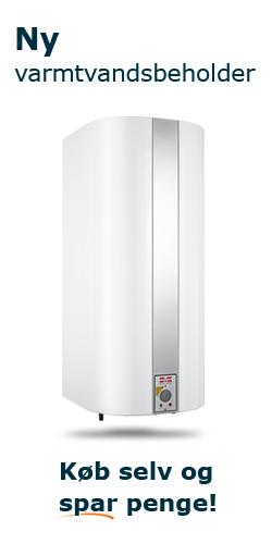 Ny varmtvandsbeholder - Køb selv og spar penge!