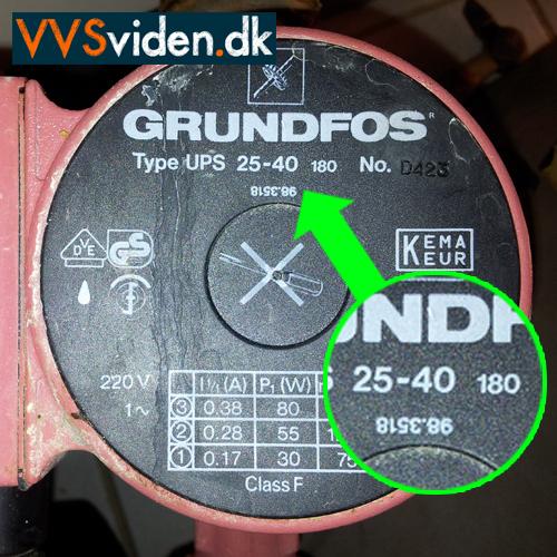 Cirkulationspumpe Grundfos Alpha 2