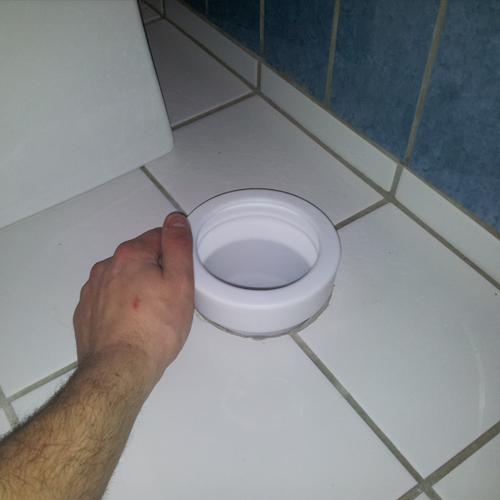 Montering af toilet - Ny klosettilslutning